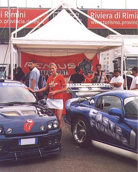 Lo stand di Fara Racing